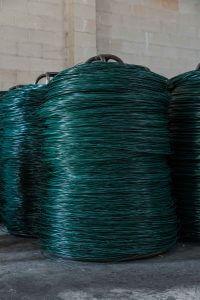 Alambre plastificado Trefilería Aliseda